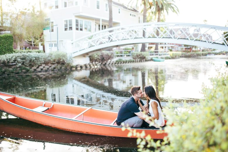 Venice Canals Engagement Pictures_12