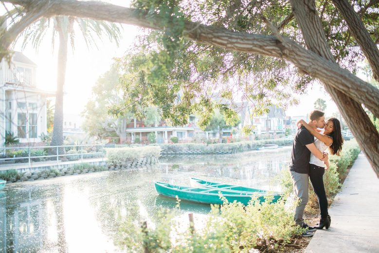 Venice Canals Engagement Pictures_20