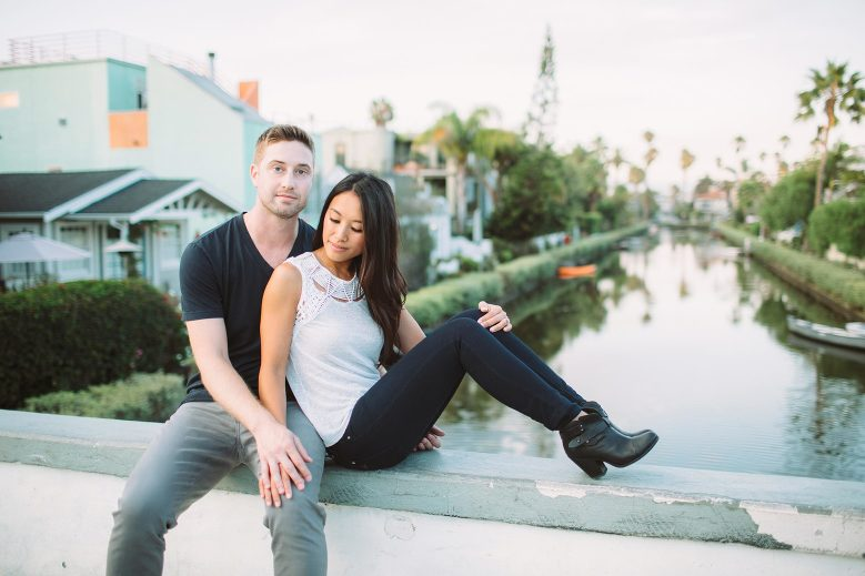 Venice Canals Engagement Pictures_23