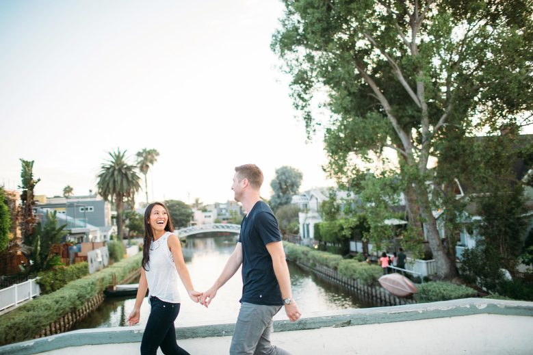 Venice Canals Engagement Pictures_25